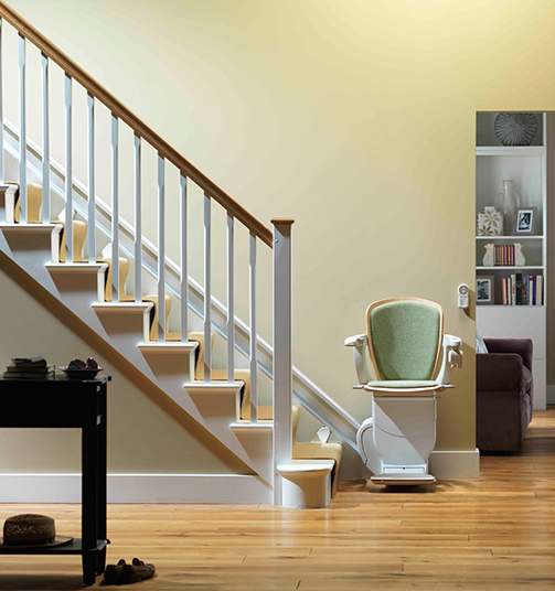Stair Lifts. Straight Indoor Stairlifts