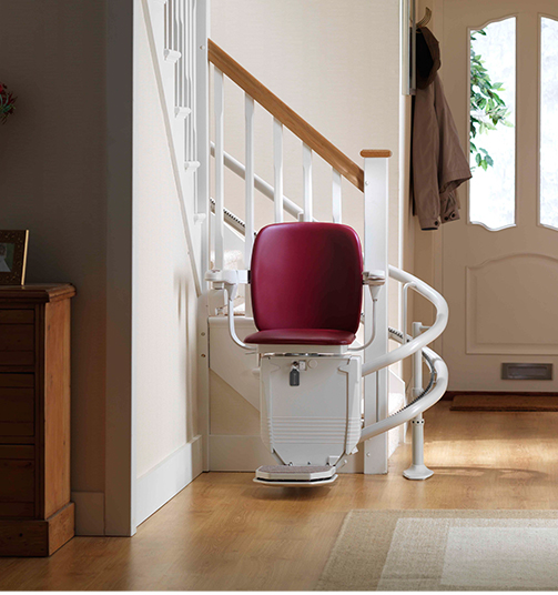 Curved Indoor Stairlifts
